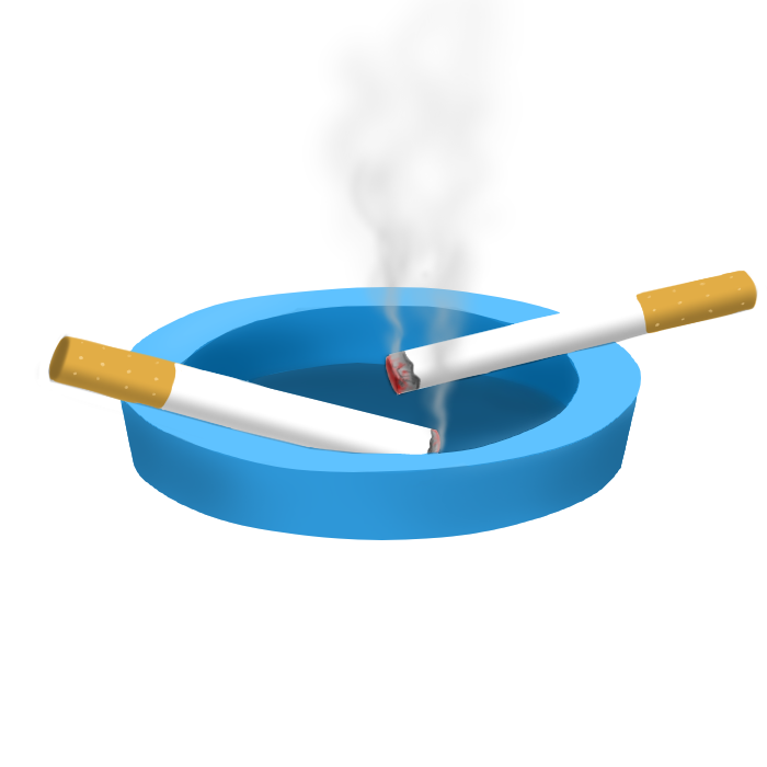 cigarettes in an ash tray