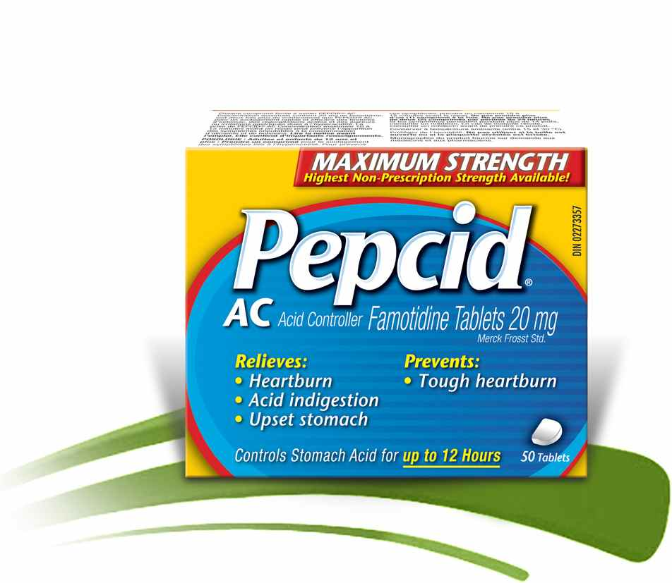 Pepcid AC Maximum Strength packaging