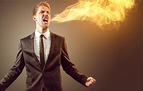 Man Breathing Fire From Heartburn